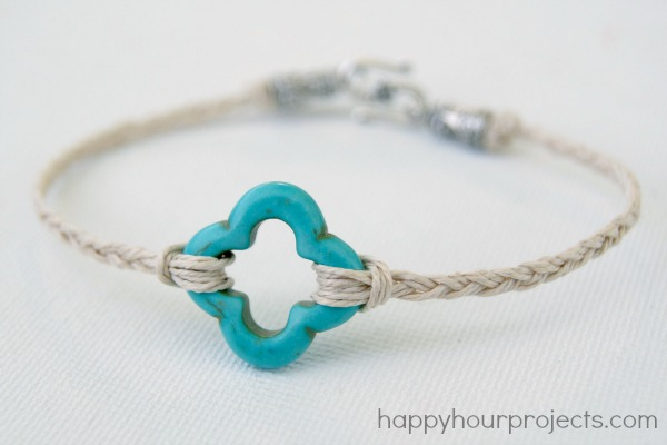 10Minute Hemp Bracelet Happy Hour Projects