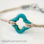 10-Minute Hemp Bracelet at www.happyhourprojects.com