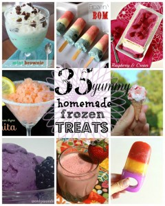35 Frozen Treats at www.happyhourprojects.com
