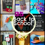 35 Back to School Projects and Ideas at www.happyhourprojects.com