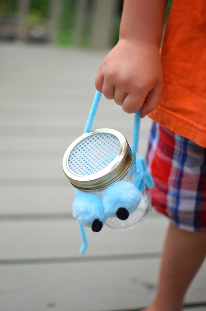 bug catcher with handle