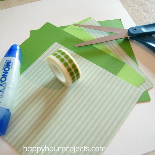 Washi Tape Card #Fiskars4Kids #cfk #shop