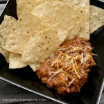 Chili Taco Football Party Dip at www.happyhourprojects.com