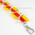 Candy Corn Shrink Plastic Bracelet
