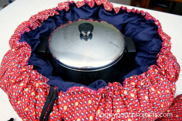 Chopped Vegetable Beef Stew Recipe in the Wonderbag at www.happyhourprojects.com