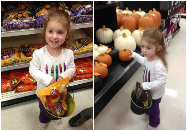Halloween Shopping at Target