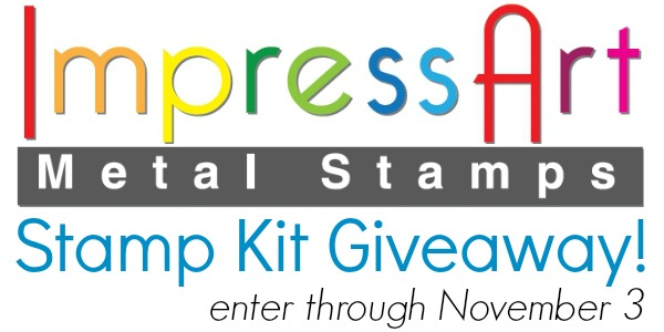 ImpressArt Stamp Kit Giveaway at www.happyhourprojects.com | Enter through November 3 2013