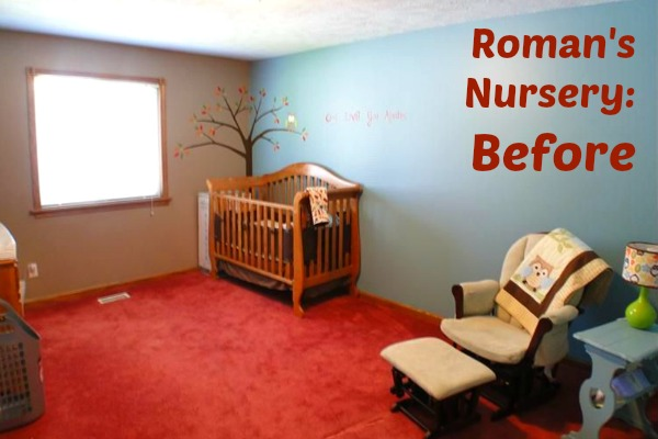 Roman's Nursery: Before