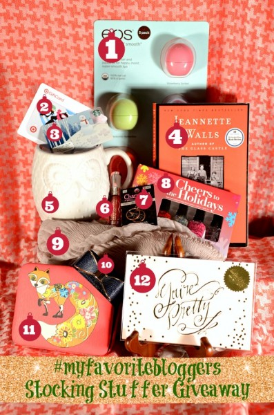#MyFavoriteBloggers Want To Stuff YOUR Stocking! Enter the giveaway now through December 8!