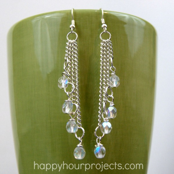 Cascading Dangle Earrings At Hyhourprojects