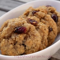Holiday Baking: Cranberry Walnut Oatmeal Cookies