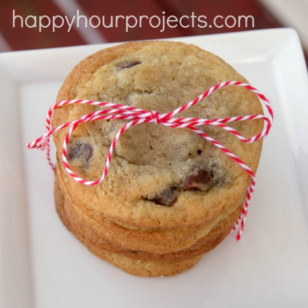 Classic Soft Chocolate Chip Cookies at www.happyhourprojects.com