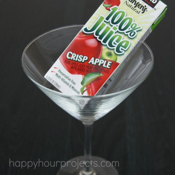Juicy Apple Martini at www.happyhourprojects.com #MotherFunny #shop