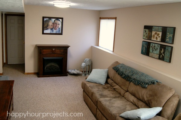Man Cave Makeover at www.happyhourprojects.com