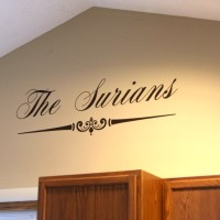 It's Our Home: Our Name Is On It! (And a Dali Decals Giveaway!)