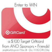 $100 Target Gift Card Giveaway at One Dog Woof