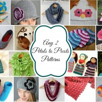 Any 2 Patterns Free! Crochet Giveaway from Petals to Picots at www.happyhourprojects.com