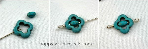Mixed Bead Bracelet at www.happyhourprojects.com