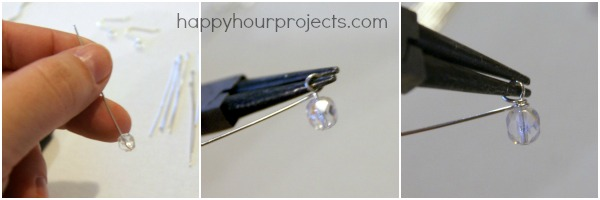 Cascading Dangle Earrings at www.happyhourprojects.com