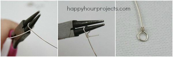 Multi-Strand Beaded Statement Necklace at www.happyhourprojects.com