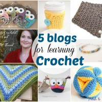 Five Blogs for Learning Crochet at www.happyhourprojects.com