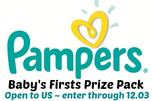 Pampers Prize Pack at Happy Hour Projects