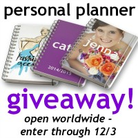 Personal Planner Giveaway at Happy Hour Projects