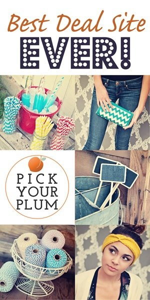 $50 Pick Your Plum Giveaway at www.happyhourprojects.com | Enter Through December 3, 2013