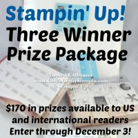 Stampin Up! Giveaway at www.happyhourprojects.com