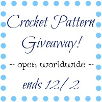 Crochet Pattern Giveaway at Petals to Picots