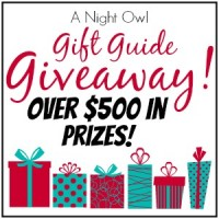 $500+ Gift Guide Giveaway at A Night Owl