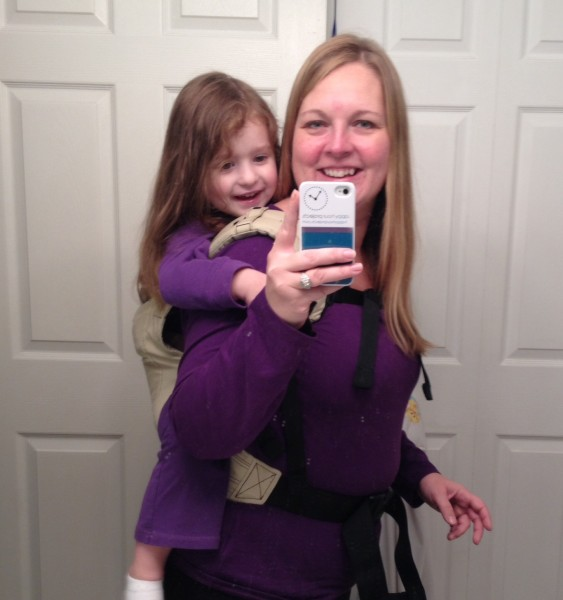 Babywearing at www.happyhourprojects.com