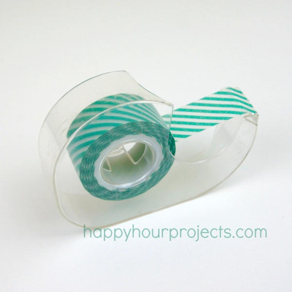Instant DIY Washi Tape Dispenser