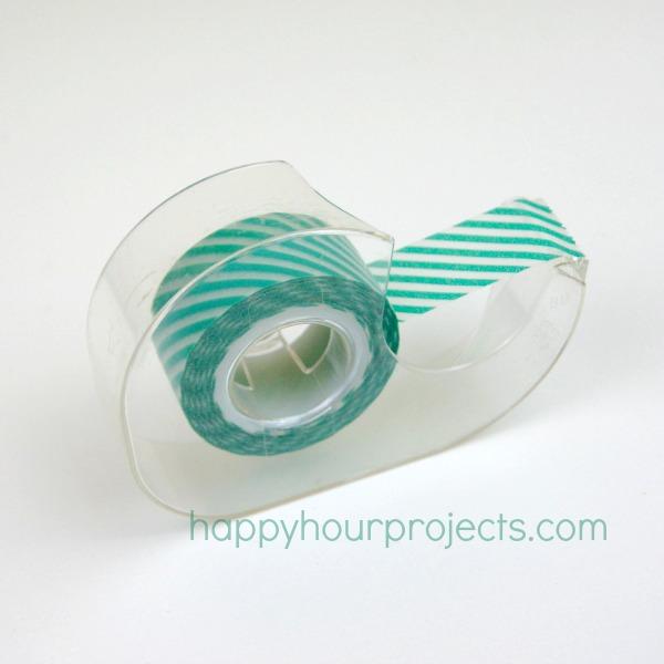 Instant DIY Washi Tape Dispenser