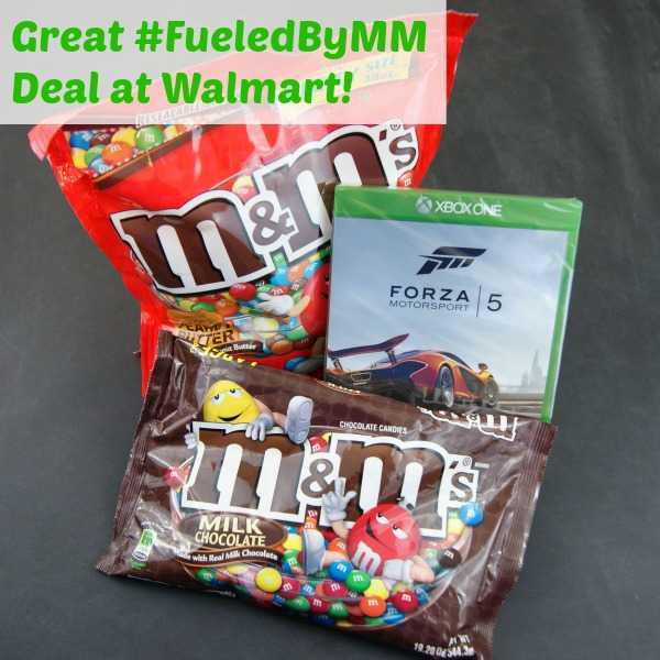 Forza Motorsport 5 and M&M's Promotion at Walmart #FueledbyMM #shop