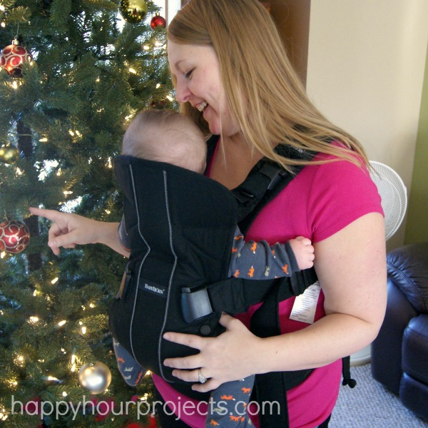 BABYBJÖRN #BabyCarrierOne and Kindle Fire Giveaway at www.happyhourprojects.com #OneIsAllYouNeed #ad