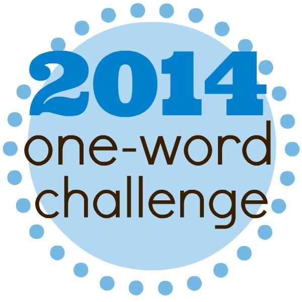 2014 One Word Challenge