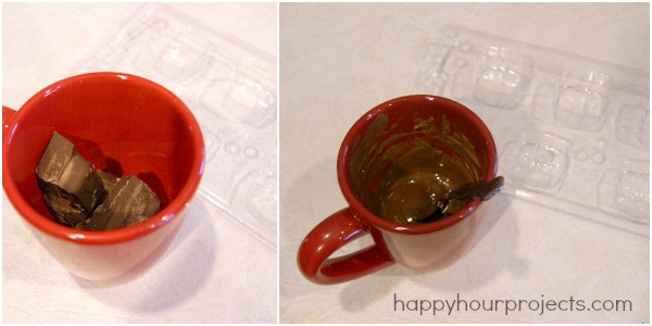 Molded Chocolate Candy Boxes at www.happyhourprojects.com