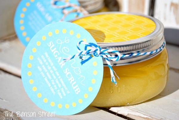 Lemon Sugar Scrub at The Benson Street