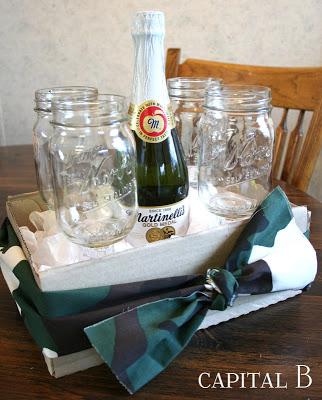 Mason Jar Wine Glasses at Capital B