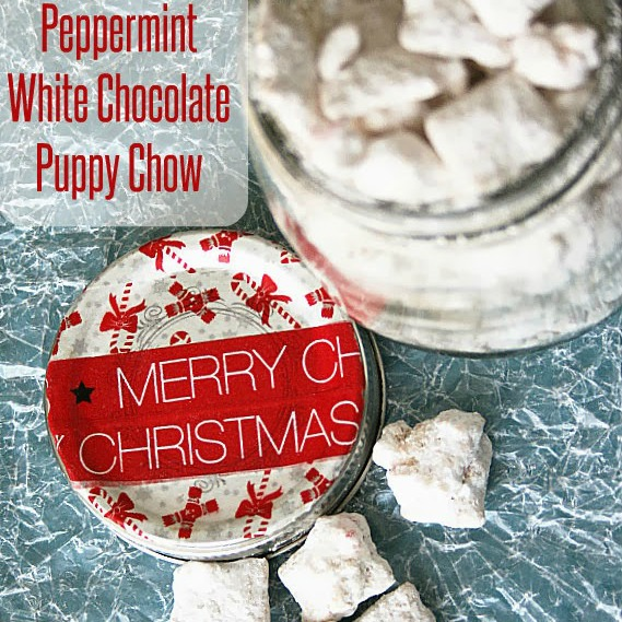 Peppermint White Chocolate Puppy Chow at Seven Alive