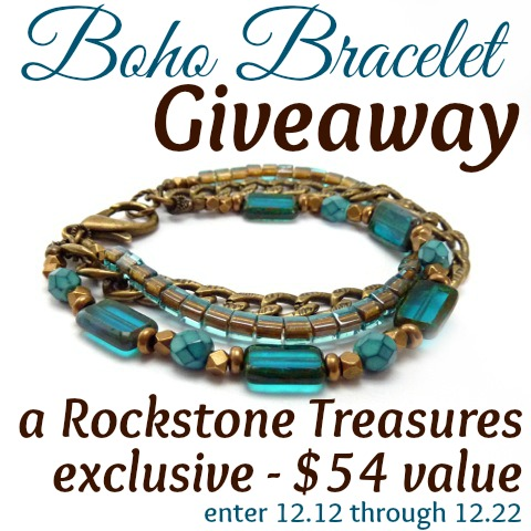 Rockstone Treasures giveaway at www.happyhourprojects.com | Enter through December 22, 2013