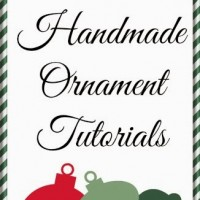 Friday Finds: Over 40 Handmade Ornament Tutorials