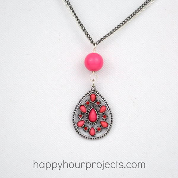 Using Jewelry Connectors to Make an Easy Necklace