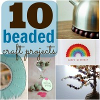 10 Awesome Beaded Craft Projects at Happy Hour Projects