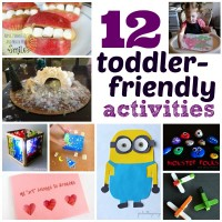 12 Toddler-Friendly Crafts and Activities at Happy Hour Projects