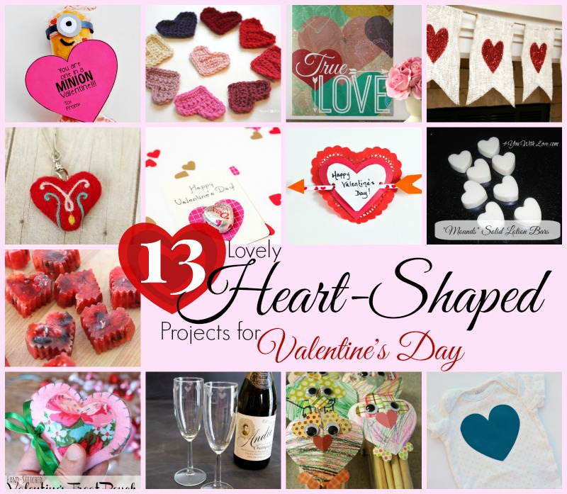 13 Heart-Shaped Projects