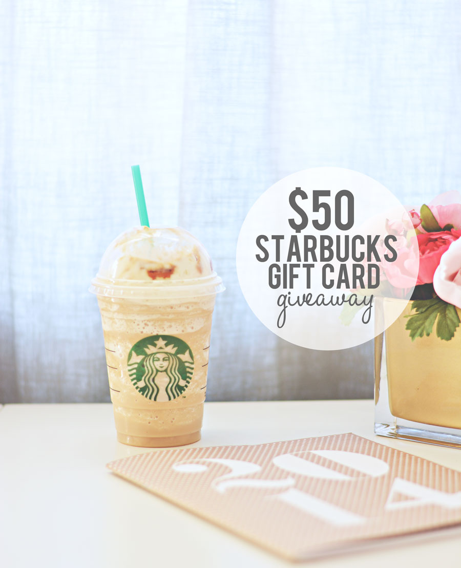 $50 Starbucks Giveaway at happyhourprojects.com through 1.19.14