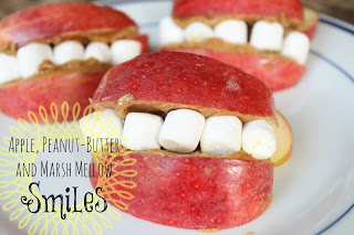 Apple Smile Snacks at Do Small Things With Love