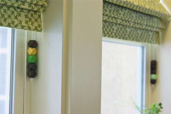Beaded Curtain Pulls at Henry Happened
